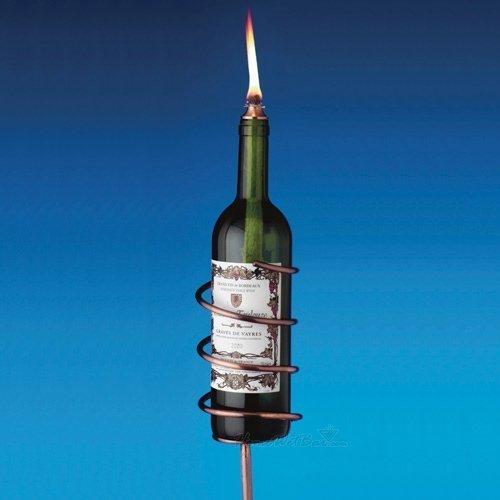 Copper Wine Bottle Torch Kit, Set of 4