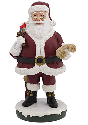 Royal Bobbles Santa Claus BobbleHIPS - Bobblehead (Santa Head Bobble)