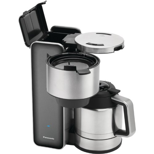 Panasonic ''Breakfast Collection'' NC-ZF1V Coffee Maker (Grey), Stainless Steel by Panasonic