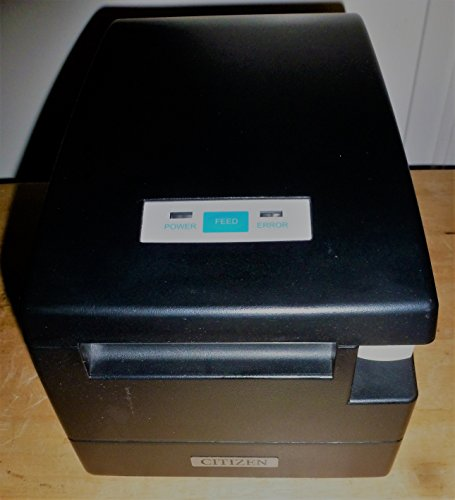 Citizen Systems America CT-S2000PAU-BK CT-S2000 Line Thermal Printer Parallel and USB Interfaces 220mmS - Color Black Ct S2000 Printer Usb