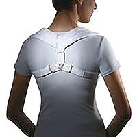 Apoyo ortopédico para postura de espalda LP (Unisex; Blanco), pequeño