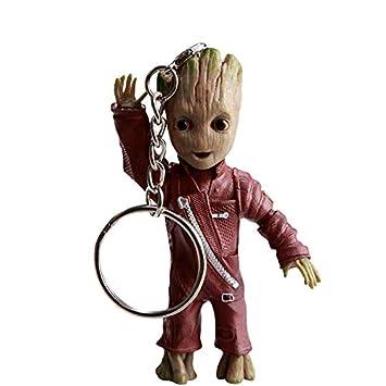 thematys® Baby Groot Llavero - Figura de acción de la película clásica - Perfecto como Regalo - I Am Groot (Mano)