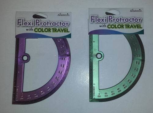Ddi - Academic Flexi Protractor with Color Travel (1 pack of 36 items)