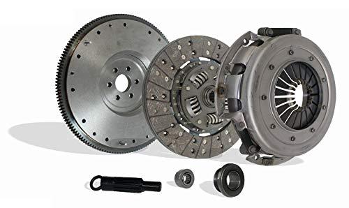 Clutch With Flywheel Kit Seco Works With Ford Mustang Gt Lx Cobra SVT 1986-1995 4.6l 5.0l V8 (OD: 10-1/2; Spline: 1-1/16; Teeth: 10T; VIN: D, MFI, Natural; VIN: T, MFI,)