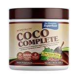 Coco Complete by New Vitality – Immune System and Metabolism Boosting Superfood Powder Supplement, Energy Support, Sugar Free, Real Cocoa Powder & Green Tea Extract, Chocolate Flavor, 30 Servings