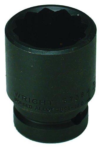 Wrightツール# 67h-50 mm 12ポイントメトリックインパクトソケットby Wrightツール B0051V98CE
