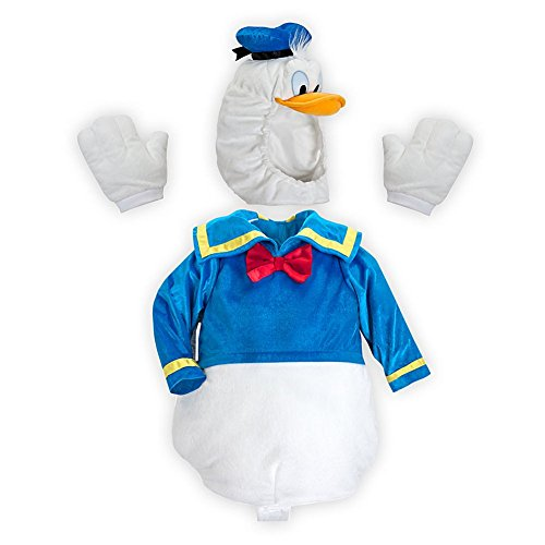 Disney Store Donald Duck Deluxe Plush Halloween Costume Size XXS 3/3T/3 -