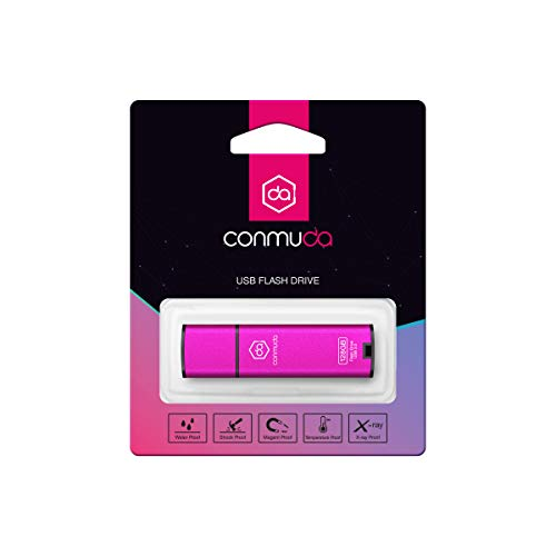 CONMUDA USB 3.0 Flash Drive 64GB Thumb Drive 3.0 Jump Drive Pen Drive Memory Stick Metal High Speed CP08(64gb, Silver)