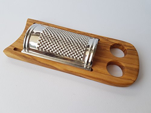 Cheese / Parmesan Grater Flat / Olive Wood Grater - Small si