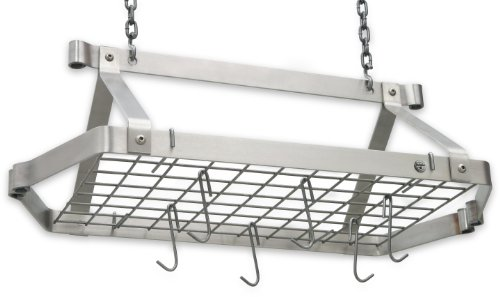 Enclume DR5 SS Decor Retro Rectangle, Regular, Stainless - Rack Pot Stainless Steel Rectangle