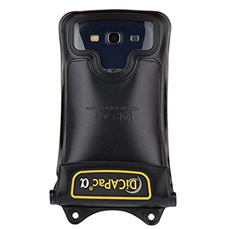 Amazon.com: DiCAPac WP-C1 Universal Waterproof Case for Motorola Droid Maxx, Razr HD/Maxx HD, Turbo, Ultra in Black (Double Velcro Locking System; ...