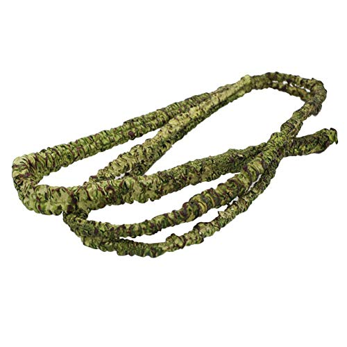 Lorchwise Pet Habitat Decor Simulated Rattan - Rainforest Collapsible Pet Reptile Decoration for Lizard Frog Snake(PU + Wire)