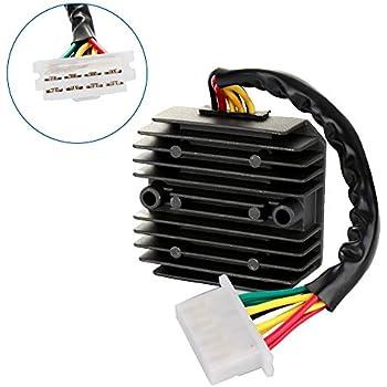 cciyu voltage regulator rectifier fit for 1975 1976 1977 1989 1979 honda goldwing  1000 1980 1981 1982 1983 honda goldwing 1100 1984 1985 1986 1987 honda
