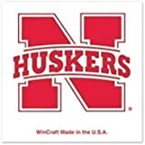 NCAA University of Nebraska Cornhuskers 4-pack of 1 x 1 inch Temporary Tattoos