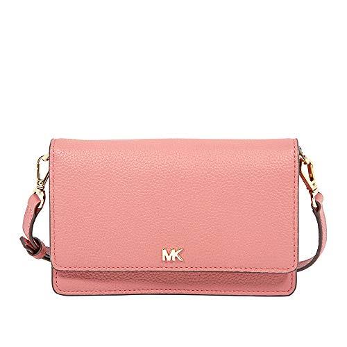 Michael Kors Pebbled Leather Convertible Crossbody- Rose