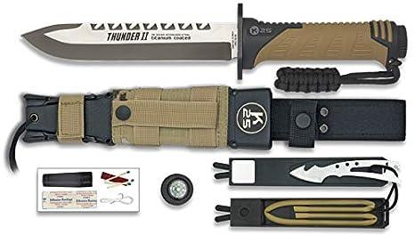 K25-32133 - K25.Cuchillo Thunder II Camo Sand. h: 17 ...