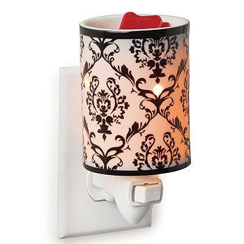 Pillar Votive Tart Wax - Plug In Damask Porcelain