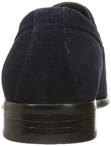 Stacy Adams Mens Mandell-moc Orteil Slip Mocassin Slip-on Daim Navy
