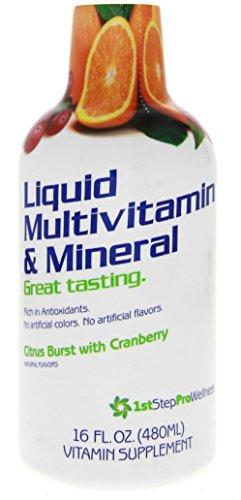 1st Step for Energy Liquid Multivitamin & Mineral Citrus Burst 16 fl oz (1 pt) 473 ml (Liquid Multivitamins)