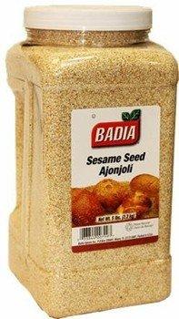 Badia Sesame Seed (Hulled) 5 lbs by Badia