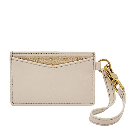 Fossil Card Case Winter White, One Size