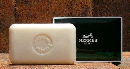 7 Jumbo 150g Hermes d'Orange Verte Savons Parfumes Soaps (Perfumed Soaps)