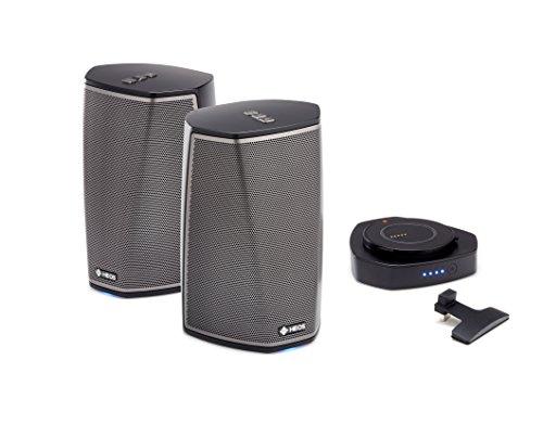 Denon Wireless Audio Multiroom Digital Music System, Black (HEOS1+1+GOBK)