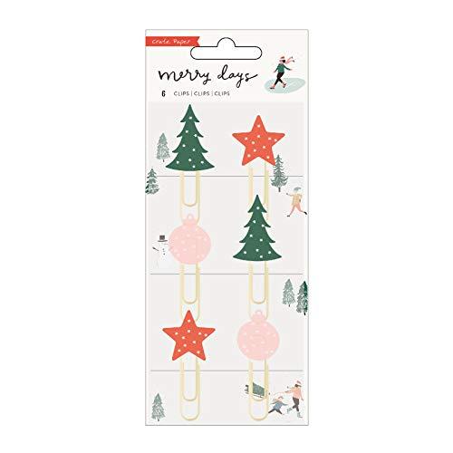 Crate Paper 344513 Paper Clips, Multicolor