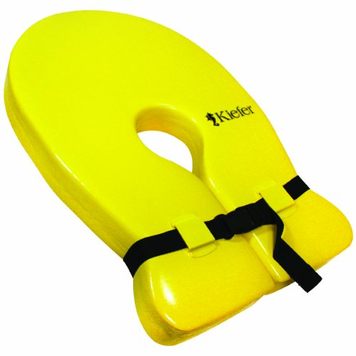Head Float - Kiefer Cushion Float Collar, 14 x 21 x 2-Inch, Yellow