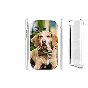FUNDA CARCASA RIBBON DOG PARA SAMSUNG GALAXY POCKET PLUS S5301