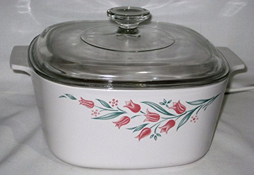 Corning Rosemarie Collection 3 Liter Covered Casserole w/ Glass Lid