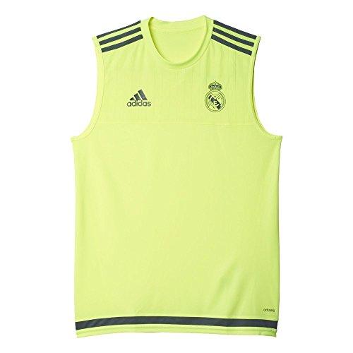 Adidas Sleeveless Jersey - adidas Real Madrid Champions League Sleeveless Training Jersey 2015/2016 - XS