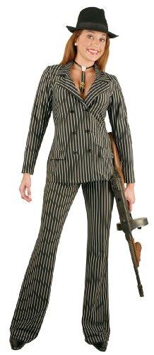 CH01752 (X-Sm) Gangster Girl Jacket & Pants Charades -