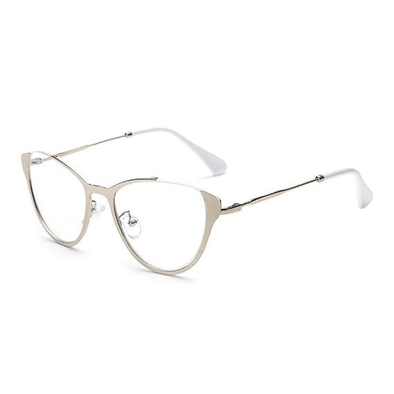 prezzo più basso 86175 ba6c6 Hibote Occhiali Cat Eye da uomo donna - Occhiali da vista ...