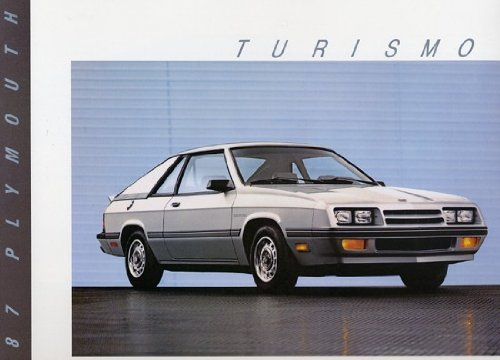 Plymouth Turismo - 1987 Plymouth Turismo Original Sales Brochure Folder