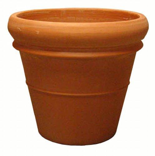 イタリア製テラコッタ鉢 リムポット47cm /植木鉢 B00G3L6XVU   47cm