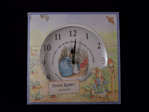 New Wedgwood Peter Rabbit Plate Clock
