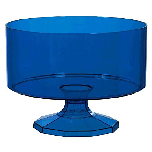 (Royal Blue Trifle Container, Medium, Party Favor)