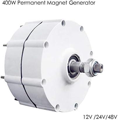 LQQ 600r/m 12/24/48v Permanentmagnet Wechselstromgenerator 400w Windturbinengenerator,48