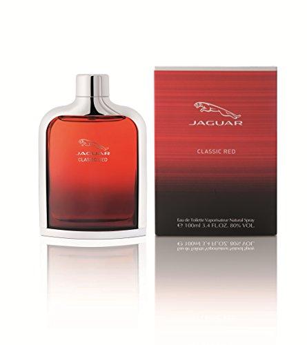 - Jaguar Classic Red Eau de Toilette Spray for Men, 3.4 Fl Oz