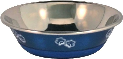OurPets Premium Durapet Blue Dog Bowl Extra (Extra Small Bowl)