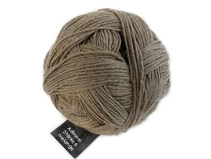 Schoppel-Wolle 4488 6 Capas Melange Admiral DK – Lana para Tejer Calcetines, Color