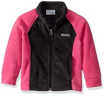Columbia Girls Benton SpringsTM Fleece Standing Collar Fleece Jacket - Black - 2T