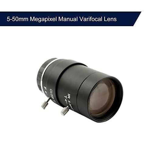 5-50mm Megapixel Manual Varifocal Lens Manual Zoom CMOS/CCD 1/3