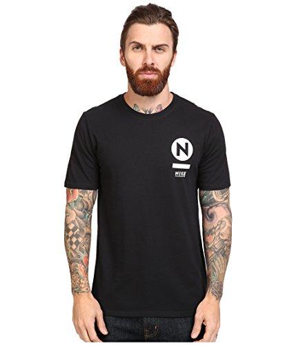 Nike SB SB Transit Tee Black/Black/White Men's T Shirt