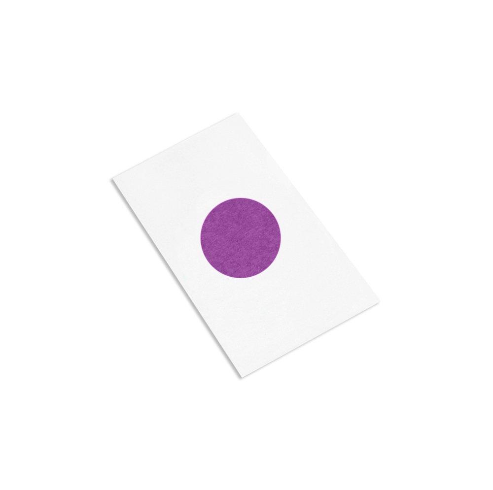 3M 501+ Purple 0.875''DISC-1000 High Temperature Masking Tape, 0.875'' Diameter Circles, Purple (Roll of 1000) by 3M