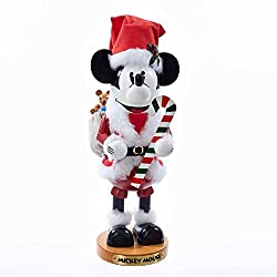Steinbach 14-Inch Mickey Mouse Nutcracker In Santa Claus...
