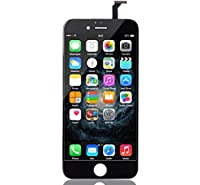 iPhone 6 Screen Replacement Black LCD Premium Repair Kit with Tools - Easy Manuals Videos and Instructions - FOR iPHONE 6 NOT 6S with USB Car Charger from uRepair