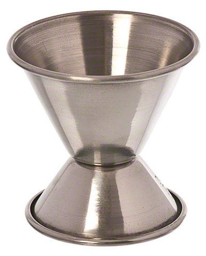Update International (JI-1) 1/2 x 1 oz Stainless Steel Jigger