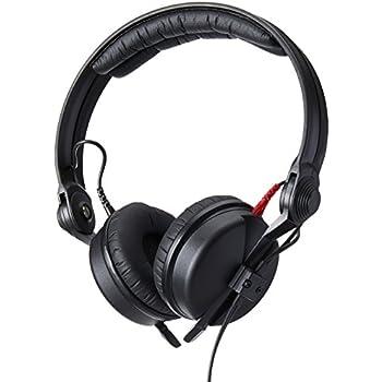 Sennheiser HD 25 Professional DJ Headphone, Black HD25